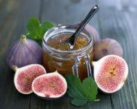 Fig jam Stock Photos