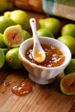 Fig jam in the bowl Royalty Free Stock Image