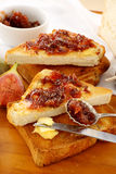 Fig Jam Sandwiches Royalty Free Stock Images