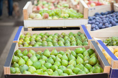 Fig market Royalty Free Stock Photography