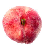 Fig peach. On a white background Stock Photos
