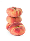 Fig peach on white background Royalty Free Stock Photos