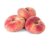 Fig peach on white background Royalty Free Stock Photography