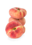 Fig peach on white background Stock Image