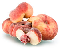 Fig peaches sweet and ripe Stock Image