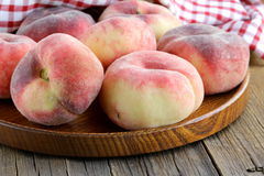 Fig peaches sweet and ripe Royalty Free Stock Photography