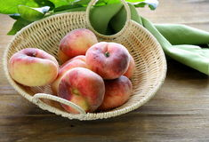 Fig peaches sweet and ripe Royalty Free Stock Image