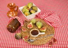 Fig preserve still life Stock Photography