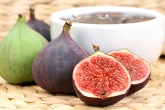 Fig preserved Royalty Free Stock Images