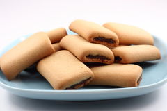 Fig rolls Stock Photos