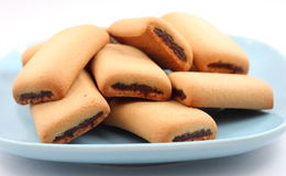 Fig rolls Stock Photography