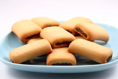 Fig rolls Royalty Free Stock Image