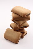 Fig rolls. Royalty Free Stock Photos