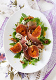 Fig salad Stock Image