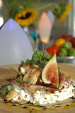 Fig salad Royalty Free Stock Images