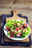 Fig salad Stock Images