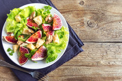 Fig salad Stock Image