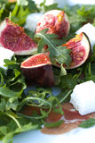 Fig fruit salad. Royalty Free Stock Photo