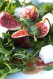 Fig fruit salad. Royalty Free Stock Photo