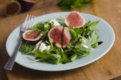 Fig salad Royalty Free Stock Photo