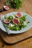 Fig salad Stock Photo