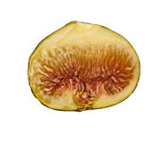 Fig section Royalty Free Stock Image