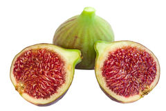 Fig and sections Stock Image