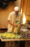 Fig seller Stock Photography