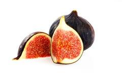 Fig slice Stock Photo