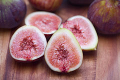 Fig Slices Stock Photo