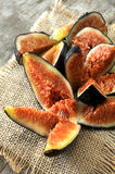 Fig summer fresh fruit eaten Royalty Free Stock Photo