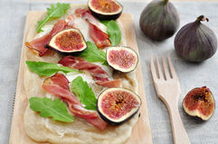 Fig Tarte Stock Photo