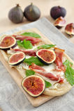 Fig Tarte Royalty Free Stock Photography