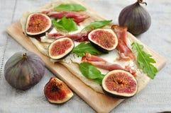 Fig Tarte Stock Photo