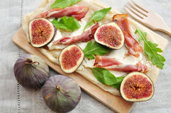 Fig Tarte Stock Image