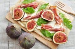 Fig Tarte Stock Image