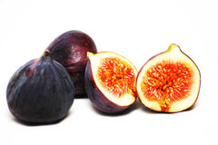 Fig on a white background Royalty Free Stock Photo
