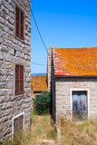 Figari, South Corsica. Rural architecture Stock Photography