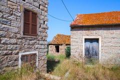 Figari, South Corsica, rural architecture example Stock Photo