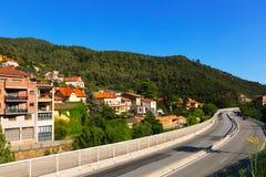 Figaro - stad in de Pyreneeën wordt gevestigd die Stock Afbeeldingen