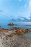 Figarolo. A view of Figarolo Island - Golfo Aranci, Sardinia Stock Image