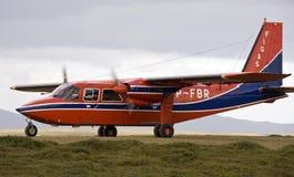 航空器福克兰figas海岛 免版税库存图片