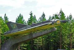 Figher J 35 Draken do jato Fotos de Stock Royalty Free