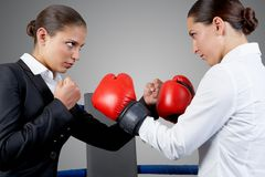 Fight stock image