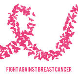 Fight against breast cancer Stock Images