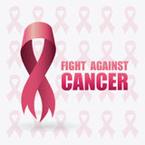 Fight against breast cancer campaign Royalty Free Stock Photo