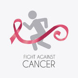 Fight against breast cancer campaign Royalty Free Stock Photos