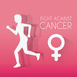 Fight against breast cancer campaign Stock Photos