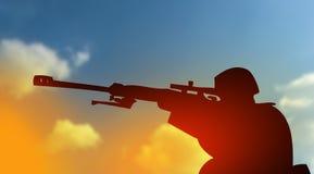 Fight against terrorism concept Stock Images