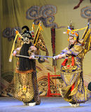 Fight-Beijing Opera: Farewell to my concubine Royalty Free Stock Image